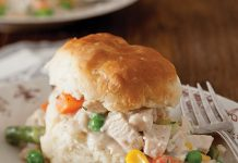 Creamed Turkey and Biscuits Ways to Repurpose Thanksgiving Leftovers