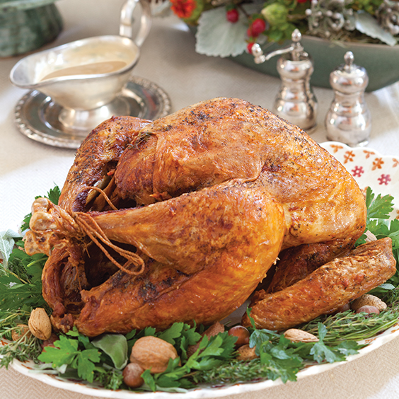 Deep-Fried Turkey with Gravy - Paula Deen magazine