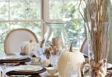 naturally beautiful thanksgiving table