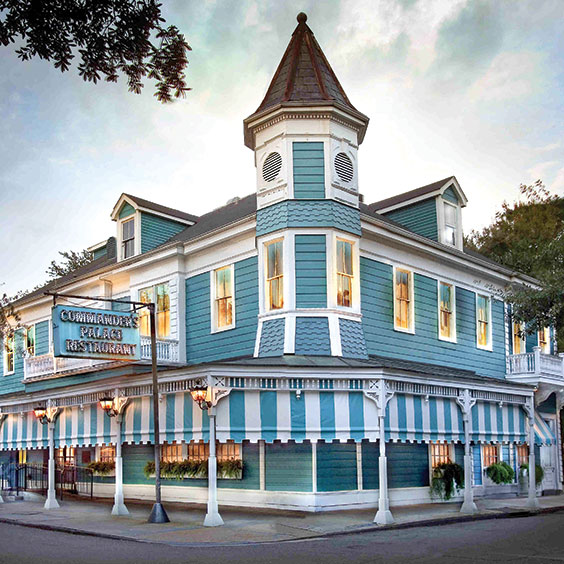 Commander's Palace restaurant in New Orleans, LA
