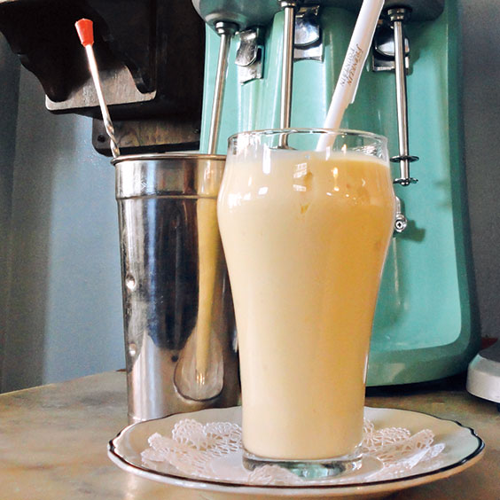 milk shakes from The Franklin Fountain