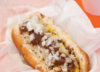 Gus's Hot Dogs in Birmingham, Alabama