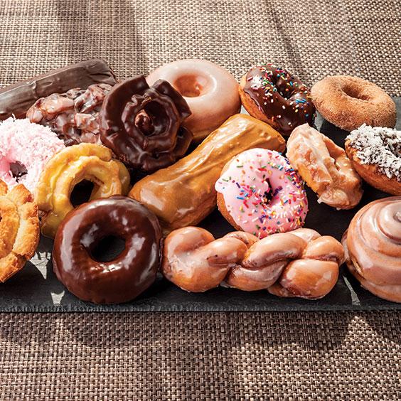 doughnuts from Top Pot Doughnuts