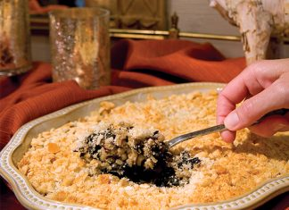 swiss chard rice casserole