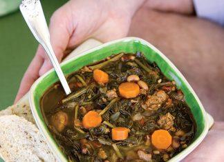 turnip greens soup