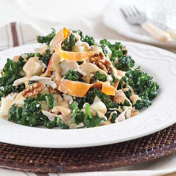 Harvest Waldorf Salad With Molasses Vinaigrette Paula Deen
