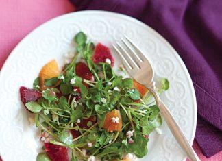 Blood Orange Watercress Salad