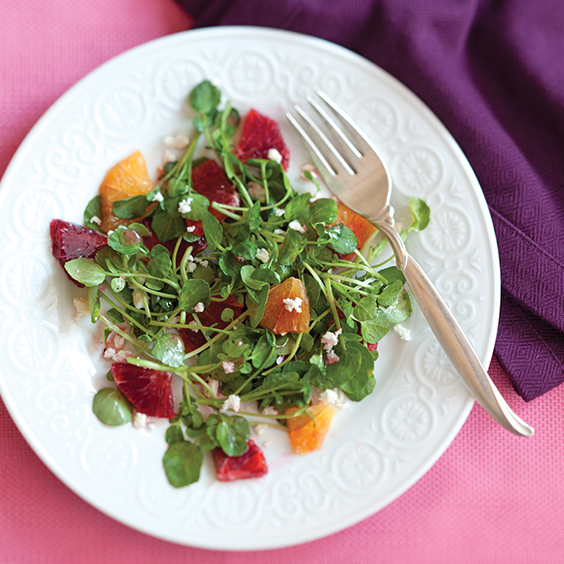 Blood Orange Watercress Salad