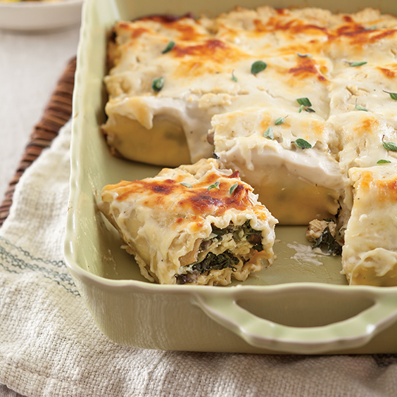 Chicken Lasagna Roll-Ups