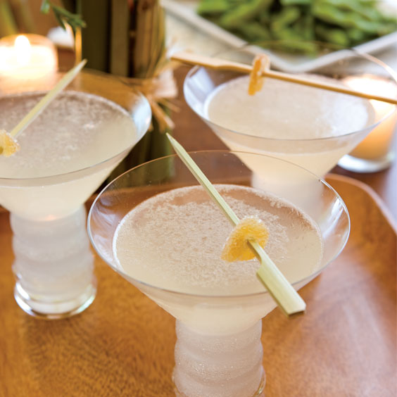 Ginger-Grapefruit Martini