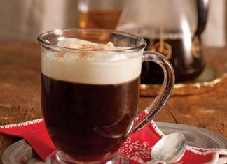 Irish Coffee, hot drinks for cold nights