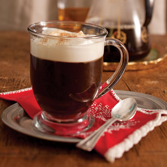 Irish Coffee, hot drinks for cold nights