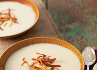 potato leek and parsnip soup