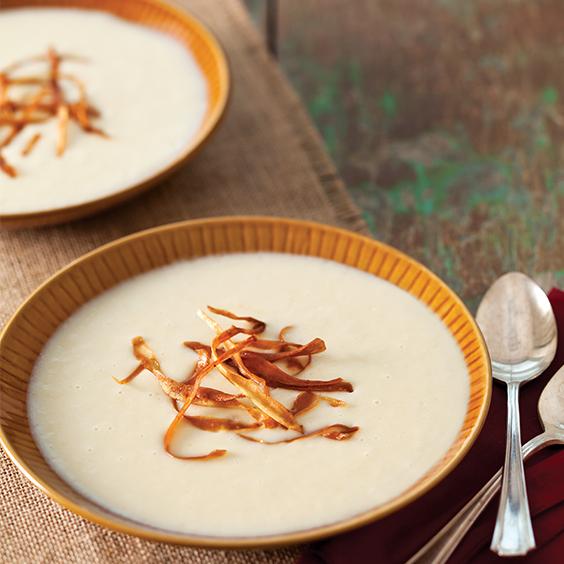potato leek and parsnip soup