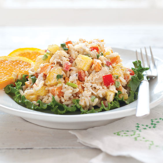 Caribbean Jerk Chicken Salad