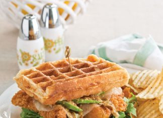 Chicken-and-Waffle-Sandwiches