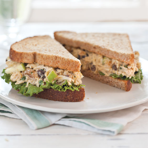 Chutney Chicken Salad Sandwiches Paula Deen Magazine