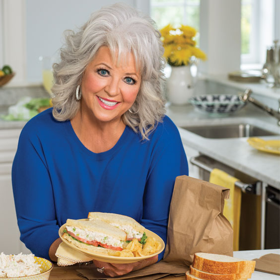 Paula Deen's best chicken salads