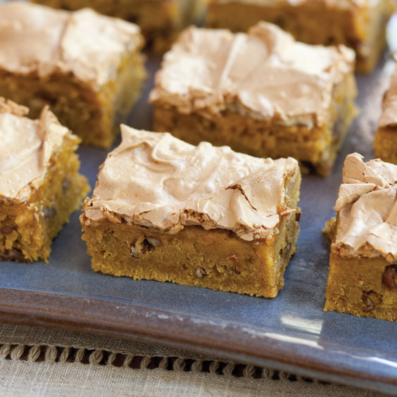 Pumpkin Chai Brownies