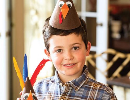 Thanksgiving Turkey Hats