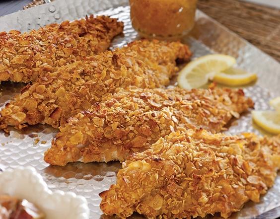 oven-fried catfish