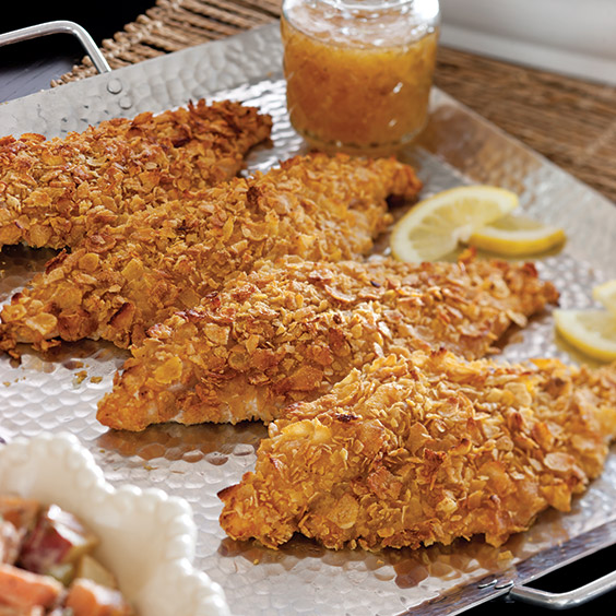Oven Fried Catfish Paula Deen Magazine