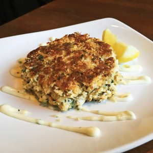 Fish City Grill crab cake