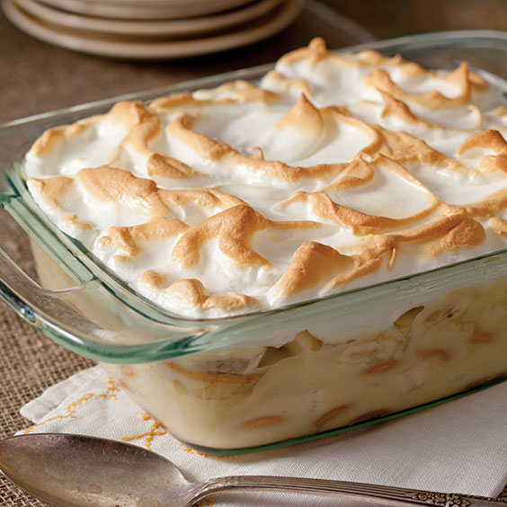homestyle banana pudding