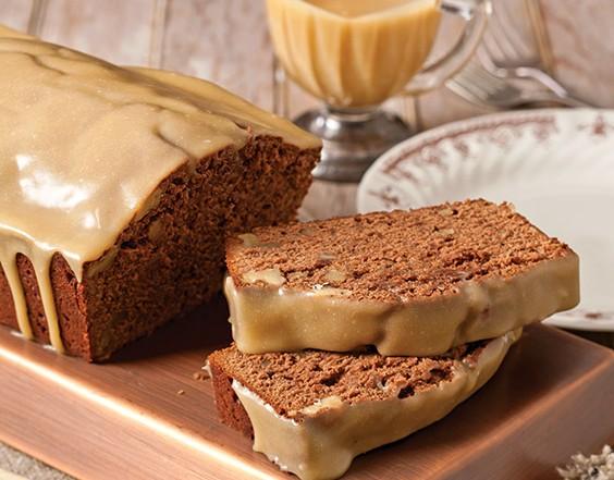 chocolate walnut pound cakes