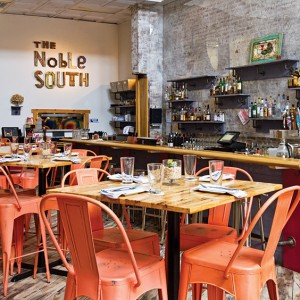 The Noble South restaurant in Mobile, Alabama