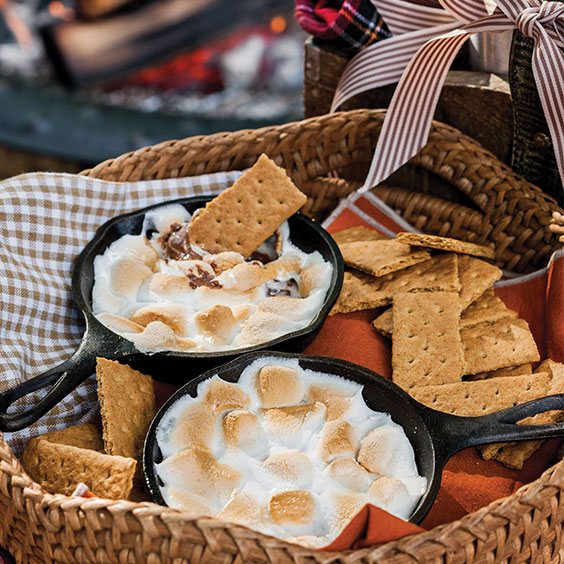 Autumn Sweets Skillet S'mores