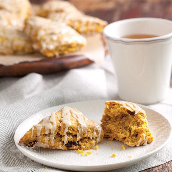 Autumn Sweets sweet potato cranberry scones recipe