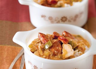 turkey and sausage gumbo