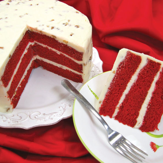 how to make a red velvet cake homemade