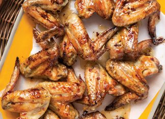 Honey-Glazed Chicken Wings
