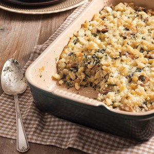 Spinach Mac and Cheese Best Casserole