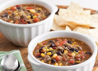 Taco Soup Ground Beef