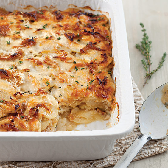 Caramelized Scalloped Potatoes - Paula Deen Magazine