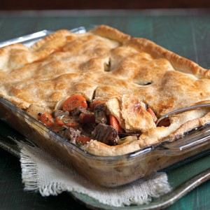 Beef and Caramelized Onion Pot Pie