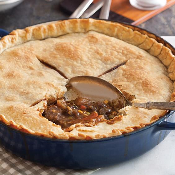 Hearty Pot Pies beef pot pie