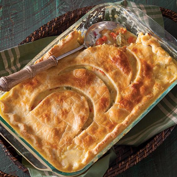 harvest vegetable pot pie
