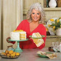 Paula Deen with Luscious Lemon Cake; layer cakes