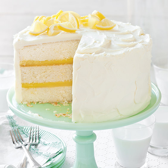 lemon wedding cake filling recipe pretty layer cakes paula deen magazine 16805