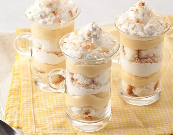Lemon Coconut Trifle