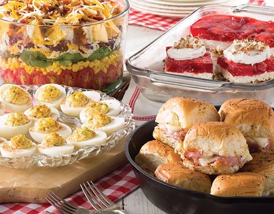 covered dish favorites