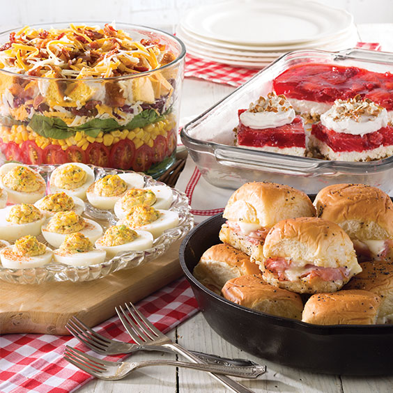 covered dish favorites