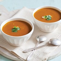 Curried Carrot-Coconut Soup