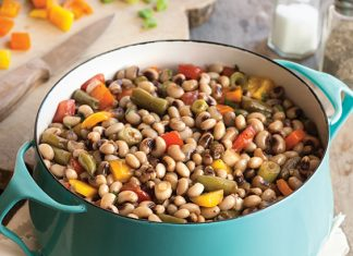 Field Peas with Snaps Salad