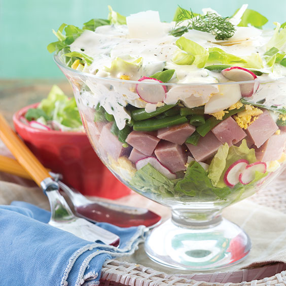 Ham and Vegetable Salad