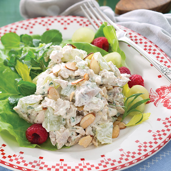 Tarragon Chicken Salad - Paula Deen Magazine